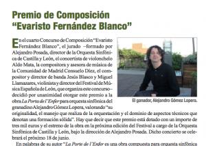 Concurso Leon Musica y Educacion