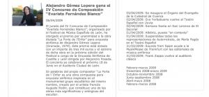 Doce Notas - Noticias